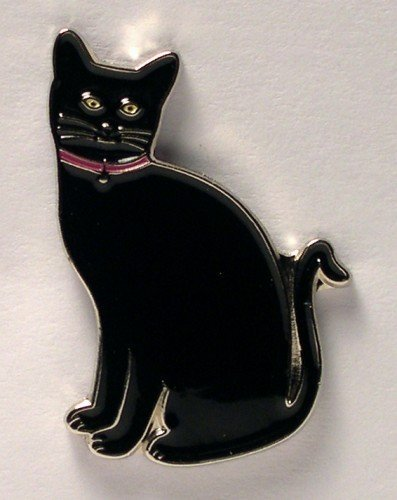metal-enamel-pin-badge-feline-black-cat