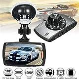 ZUKABMW Cámara DVR para Coche, grabadora de cámara G30 Full HD 1080P para Coche, cámara de 2.7 Pulgadas, 170 Grados, visión Nocturna, Sensor G, cámara de salpicadero