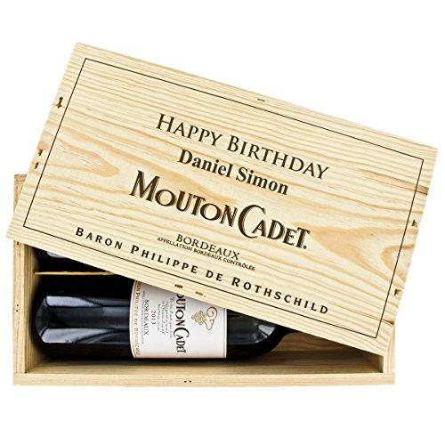 Das Mouton-Rothschild Duo - 2 Flaschen Mouton-Cadet mit Ihrer individuellen Gravur