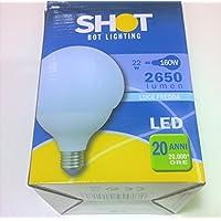 Lampadina globo LED 22W luce Daylight 5000K 2650 Lumen = 160W SHOT