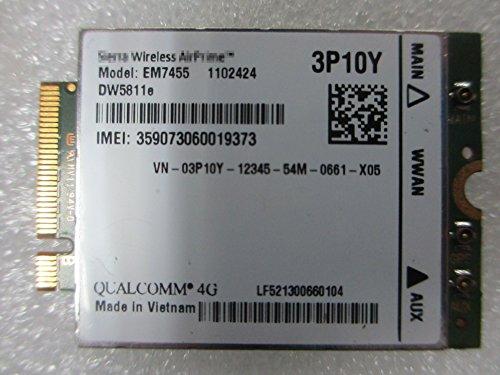 DELL 4G WWAN Card EM7455 LTE 4G NGFF module DW5811E DPN