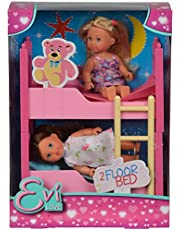 Simba Steffi Love -inchEvi Love 2 Floor Bed-inch Two 12 cm Evi in N, Pink
