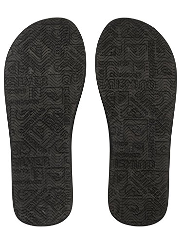 Quiksilver Molokai New Wave Deluxe - Tongs pour Homme AQYL100413 Noir - Black/Grey/Red