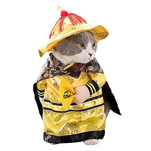 wlgreatsp Hundekleidung Katze Weste Jacke Kostüm Nette Kleidung Cosplay Kostüme Outfit Lieferungen