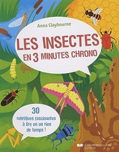 """Afficher """"Les insectes en 3 minutes chrono"""""""