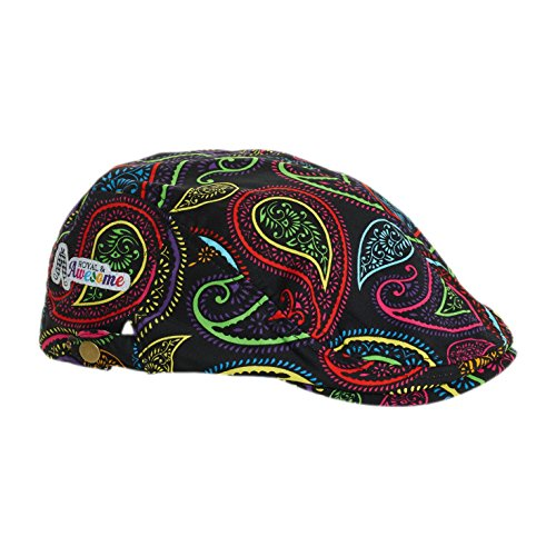 berretti-appiattiti-da-golf-unisex-royal-and-awesome-crazy-paisley