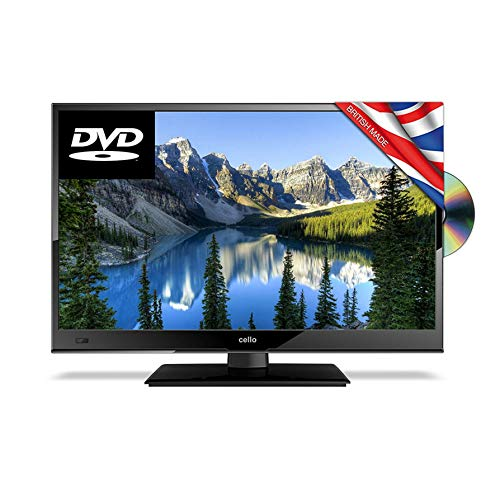 Cello 22  Inch FULL HD HDMI 12v Volt LED TV with Built in DVD Player   Freeview