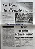 Telecharger Livres VOIX DU PEUPLE DE TOURAINE LA No 2853 du 24 04 1998 SOMMAIRE REGION FN DUR POUR LES PAUVRES DOUX POUR LES RICHES BALLAN LA DROITE SAISIE DE DOUTES FETE DU 1ER MAI LE PROGRAMME OMNIMANU LIOTARD BREDIFRAIS LA POSTE CRAMPONS DE LA SOLIDARITE ABOLITION DE L ESCLAVAGE 150 ANS LOI CONTRE L EXCLUSION DANS LE BON SENS ET A AMELIORER L ETAT DES DROITS DE L ENFANT EN FRANCE MONNAIE UNIQUE L EURORISQUE PAR PIERRE ZARKA PARTOUT UNE QUESTION LES DROITS DES PEUPLES (PDF,EPUB,MOBI) gratuits en Francaise