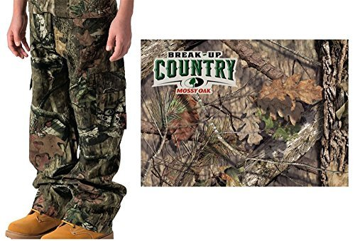 Youth 6 Pocket Cargo Pants Mossy Oak Country, Large by Walls 360