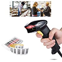 ماكينة فيستنايت المحمولة الآلية الآلية الآلية المزودة بقارئ باركود USB 2.0 سلكية لمتاجر البيع بالتجزئة سوبر ماركت إكسبرس كومباني باللون الأسود