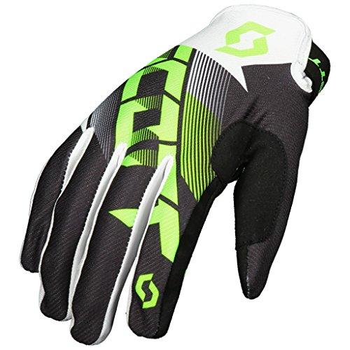 SCOTT 350 Dirt Handschuhe Motocross Enduro Downhill MTB ATV MX SX Handschuhe Schwarz Grün (S)