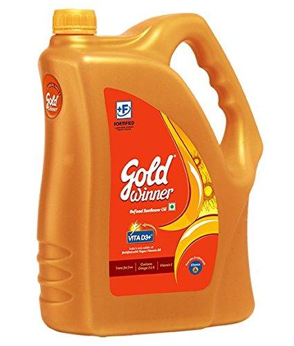 Gold Winner Refined Sunflower Oil, 5L