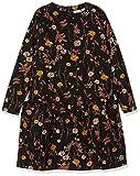 Noa Noa miniature Mädchen Kleid Mini Fleur, Schwarz (Black 0), 128 (Herstellergröße: 8y)