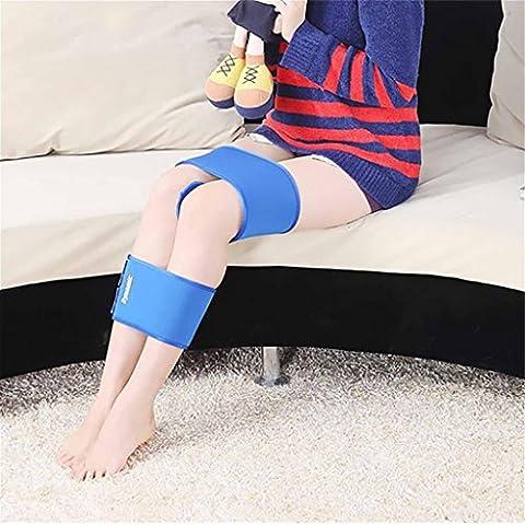 G&M forma de X forma Piernas Corrección Cinturón Bowleg la postura correcta de la venda corrector de la correa de la pierna larga encantadora para los Hijos Adultos , blue ,