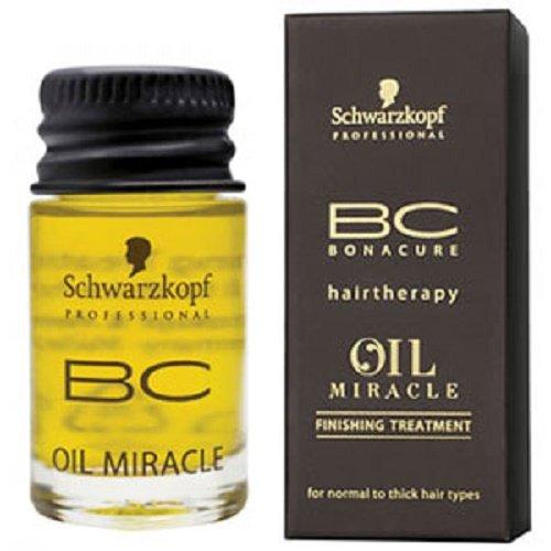 Schwarzkopf Professional - Huile Oil Miracle Légère Soin de Finition pour Cheveux Normaux à Epais BC Bonacure - 100ml