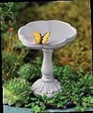 Vogelbad Mini-Schmetterling