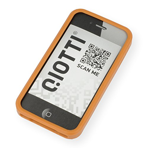 QIOTTI QX-C-0920-35-IP4 Q.Snap Bumper für Apple iPhone 4/4S orange