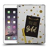 Head Case Designs Gold Noten An Sich Soft Gel Hülle für iPad Air 2 (2014)