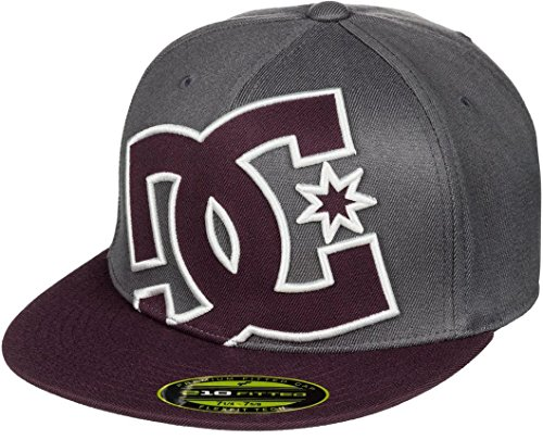 DC Shoes Herren Hat Ya Heard M BLK grau/maroo