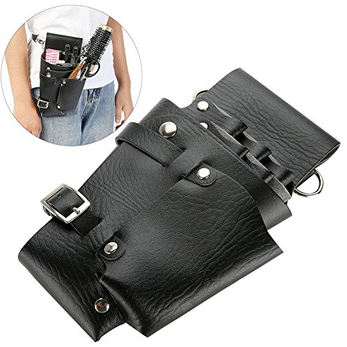 Estilista de salón Herramientas de peluquería Cintura Bolsa de cinturón, Bolsa de herramientas de peluquería profesional Bolsa de peluquería Tijeras de peine Cinturón de cintura de la funda