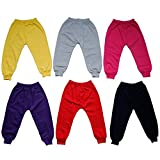 #9: DoDo Newborn Baby (15-24 months) Unisex Soft Cozy Cotton Multicolour Combo Pack - 6 Cotton Payjamas with Rib / Elastic