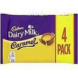Cadbury Dairy Milk Caramel Chocolate Bar, 4 x 37g