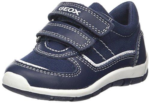Geox Baby Jungen B Shaax A Sneaker, Blau (Navy/White), 27 EU