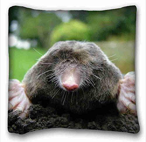 Custom (Animals mole dirts dig face) Pillowcase Standard Size 18 * 18