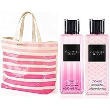 Victoria Secret - Bolso bandolera beige rosa