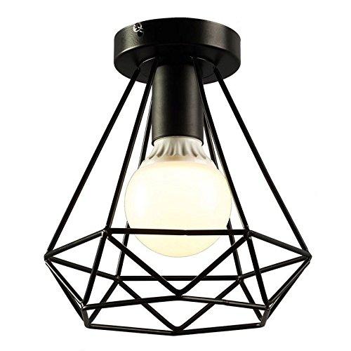 TOOGOO Vintage Industrial Rustikale Deckenleuchte Deckenlampe, Metall Pendelleuchte Lampe Leuchte fuer Flur