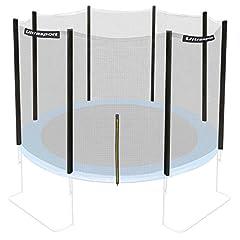 Idea Regalo - Ultrasport Rete di Sicurezza per Trampolino da Giardino Jumper, Modelli da Maggio 2014, diametri 180, 251, 305, 366, 430cm, 366 cm