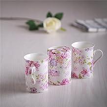 Ensemble di bagno,3 pezzi di osso materiale porcellana European-Style regalo di nozze fiore,bagno Accessori Set