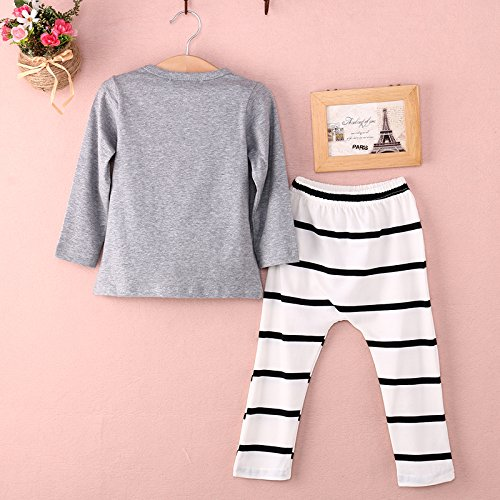 6-9 Months G4RCE Cute Newborn Unisex 6 9 12 18 24 Months ClothesLazy Days Baby Infant Toddler Kid Girl Boy t-Shirt Outfit 2pcs Set UK