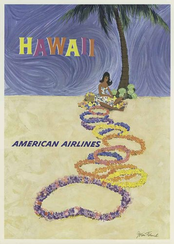 vintage-american-usa-travel-poster-hawaii-american-airlines-a4-poster-print-picture-280gsm-satin-pho
