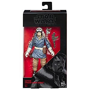 Star Wars Rogue One - Capitán Cassian Andor, Figura, 15 cm (Hasbro B9395ES0)