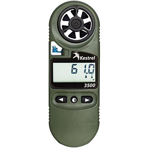 Kestrel 3500 NV Pocket Weather - Luz de navegación para Barcos, Color Verde