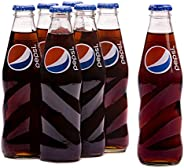 Pepsi Carbonated Soft Drink, Glass Bottle, 6 x 250ml
