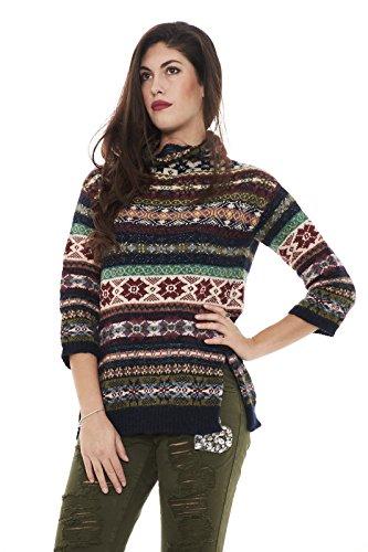 Max Mara Damen Pullover mehrfarbig mehrfarbig Medium
