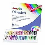 Pentel Pastel à l'huile des Ensembles artistes pastels à l'huile (couleur des Ensembles de 12, 16, 25, 36et 50) 36 Piece Set
