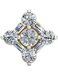 PC Jeweller The Itiah 18KT Yellow Gold & Diamond Nose Pin
