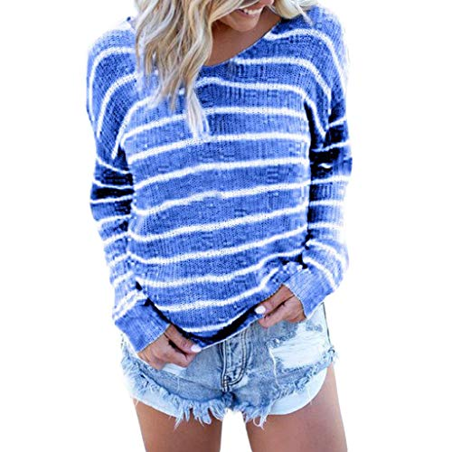 Oyedens Damen Große Größe Bluse T-Shirt Leinen T Shirt Oversized Knöpfe Oberteile Hoodie Frauen Plaid Button Tops Plus Size Bluse Damen Streifenpullover Gelb, Lila, Blau, Schwarz S-2Xl -