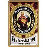 20 x 30 cm con diseño de cerveza publicidad Retro chapa 27