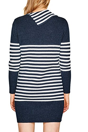 ESPRIT Damen Kleid Mehrfarbig (Navy 2 401)