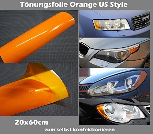 US Style Blinker Tönungsfolie Orange Blinker Folie Ami Tint Film