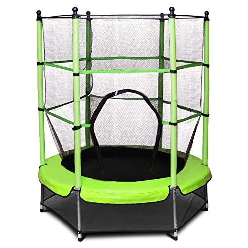 Zoom IMG-1 goplus trampolino elastico da giardino