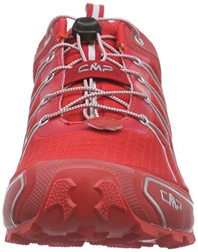CMP Super X - Scarpe da Trail Running Uomo Rot (Lacca C675)