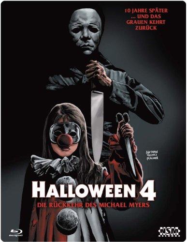 Halloween 4 (Blu-Ray) - uncut - limitiertes 3D Starmetalpak (Halloween 4 Blu Ray)