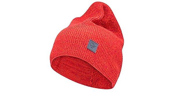 8f05852e0 Norrona Shirts/29 Thin Marl Knit Beanie, red, One Size: Amazon.co.uk ...