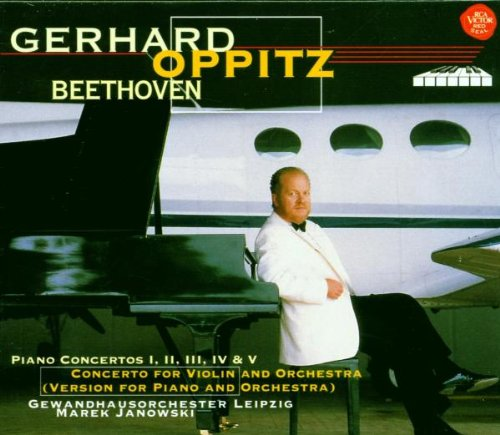 Beethoven:Piano Concerto 1-5 [Import allemand]