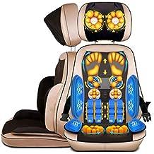 Cojín Masajeador Shiatsu Massage Chair Pad Back Máquina de masajeador con calor (cabeza, hombros